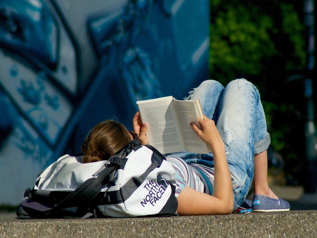 Ein trockener Platz zum Lesen