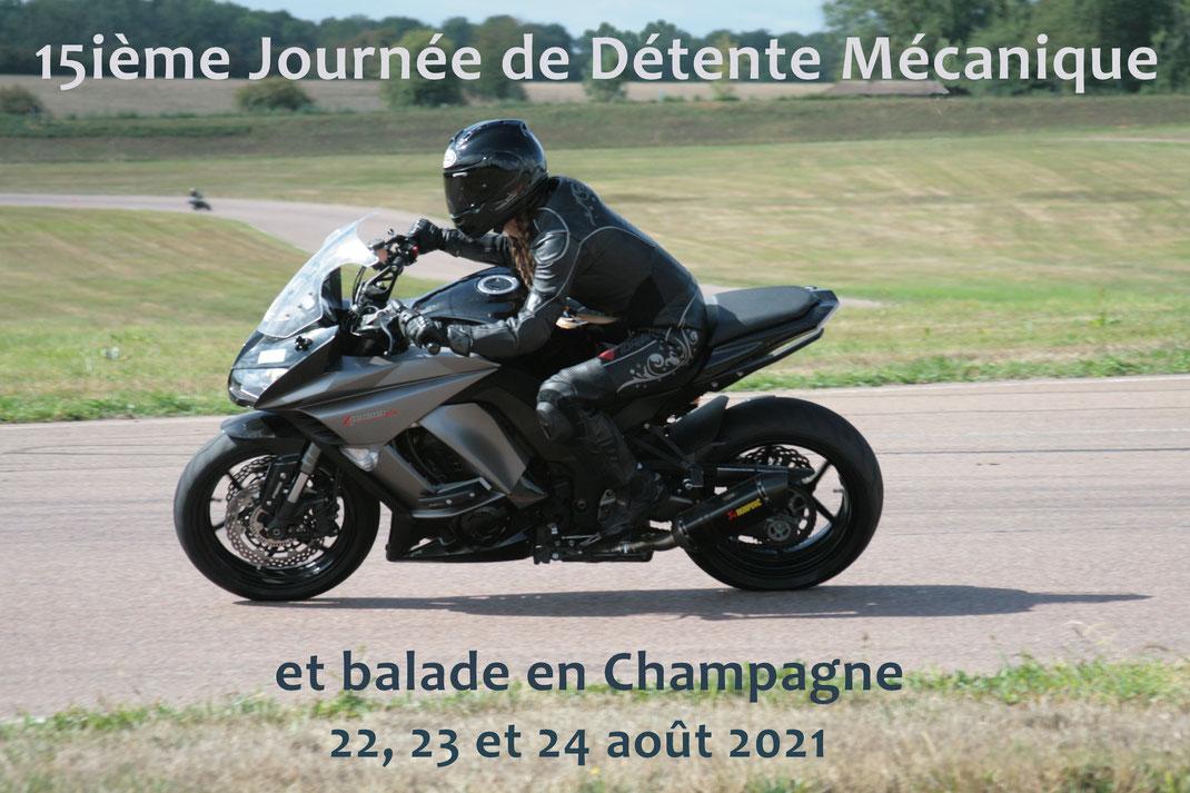 15ième perfectionnement moto au feminin Journée de Détente Mécanique 2020 by Cap Moto