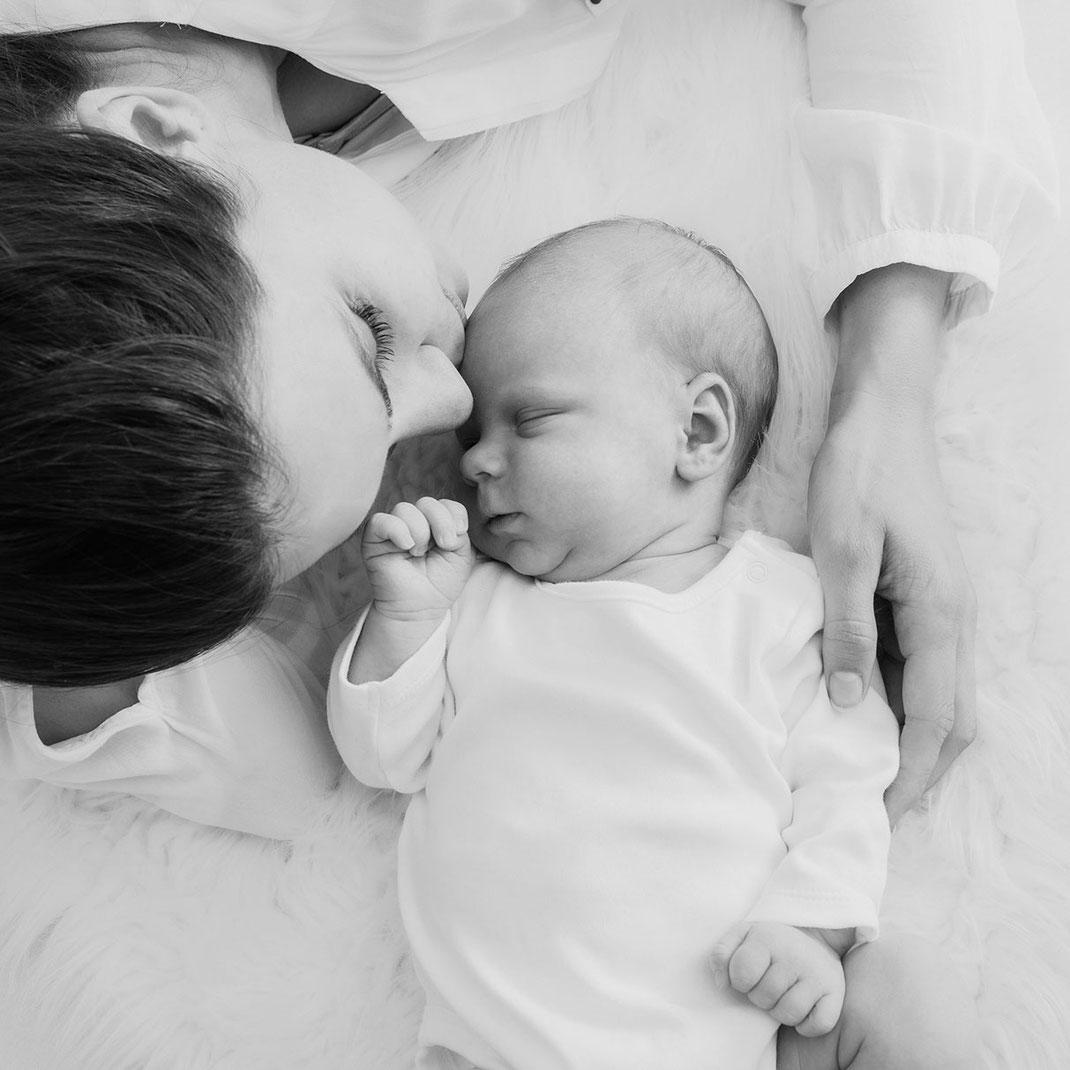 Newbornshooting Augsburg Familienfotos