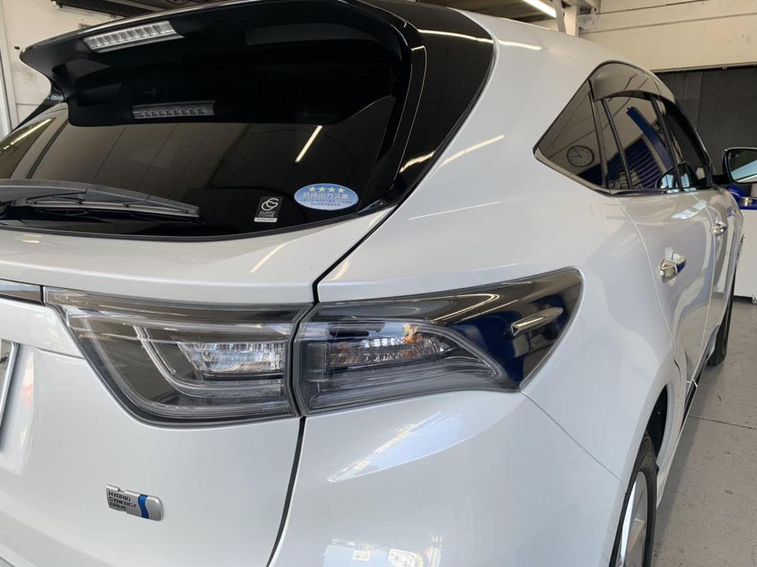 トヨタ ハリアー 新車コーティング ダイヤモンドキーパー