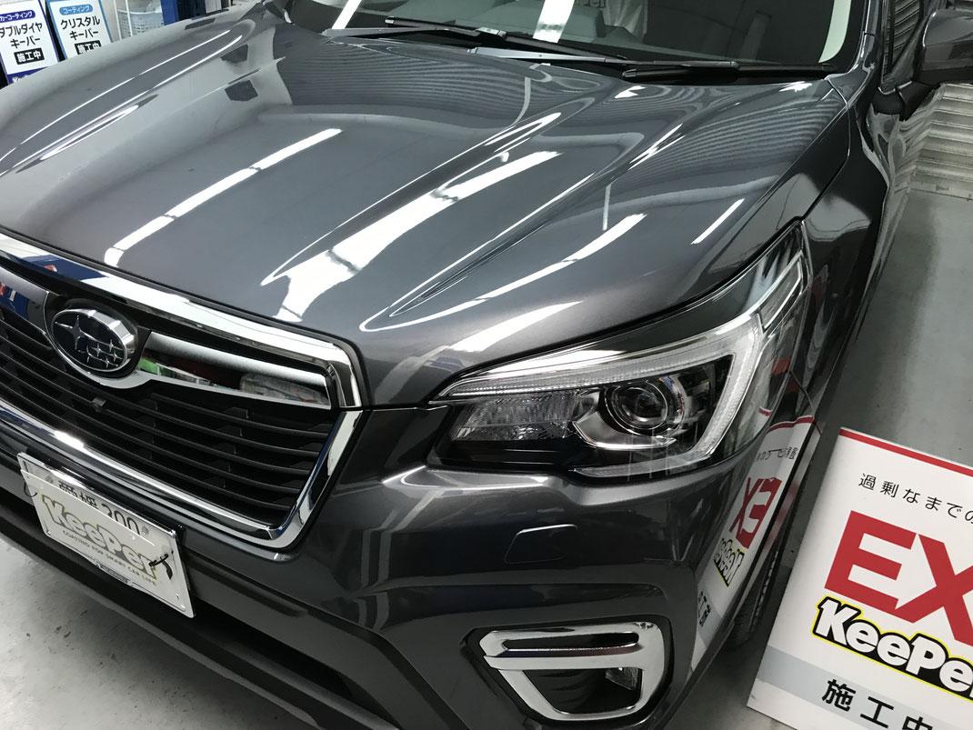洗車 松山市 キーパーコーティング キーパーラボ松山 オートバックス保免店