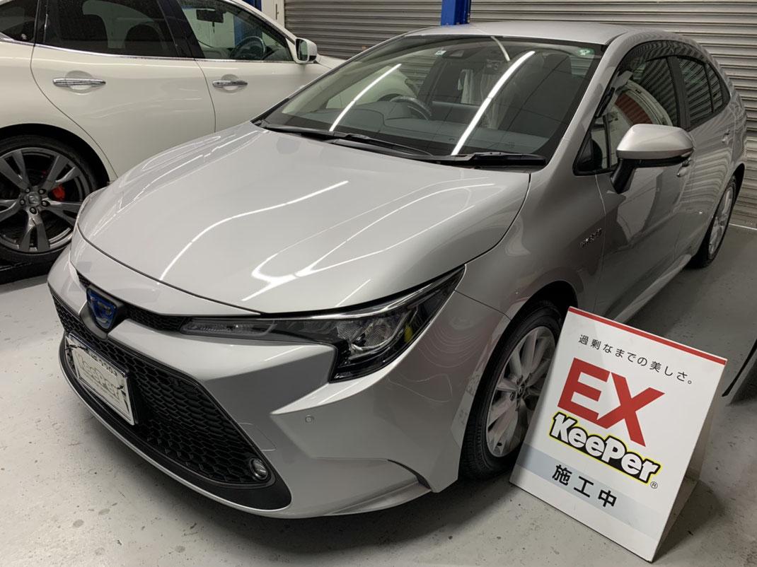 キーパーラボ松山 キーパーコーティング オートバックス保免店 新車