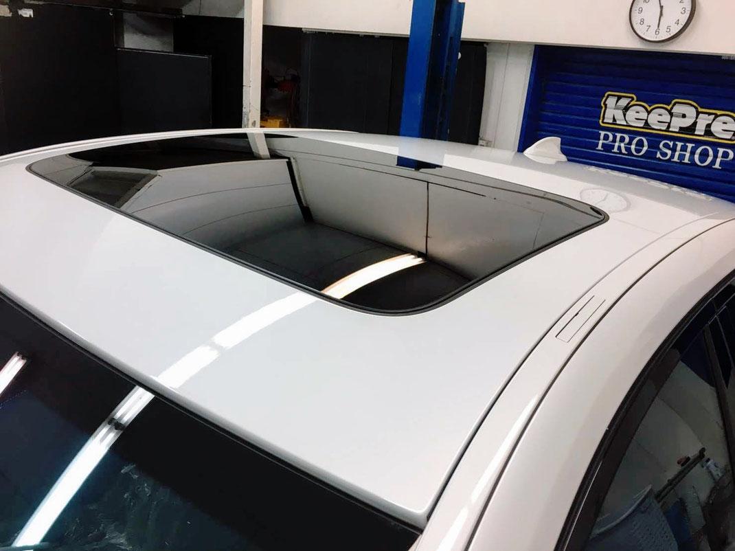 新車を買ったんだけど. いいコーティングないかな?」 「年数たつけど新車の時の. 塗装を取り戻したい!!」キーパーラボ松山 新車コーティング ガラスコーティング