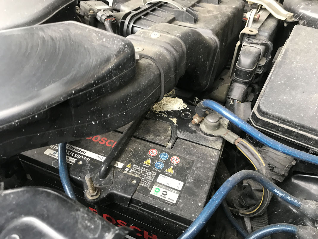 エンジン内 きれいにする