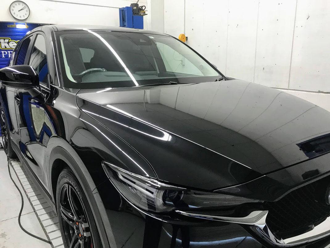 新車 コーティング 松山 マツダ CX-5