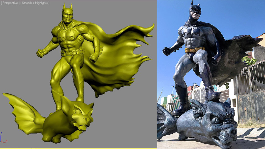 batman fiberglass
