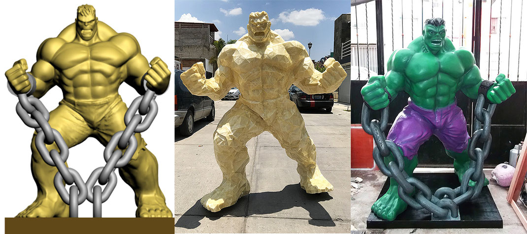 hulk fiberglass