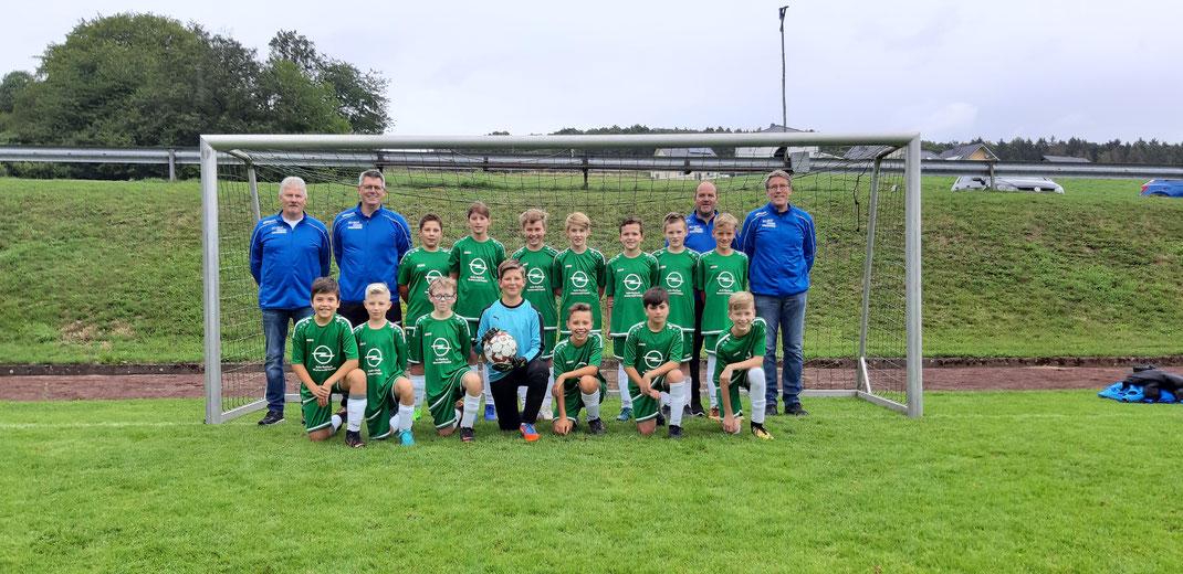 Mannschaftsfoto D-Jugend FC Alpenrod - Saison 2019/2020