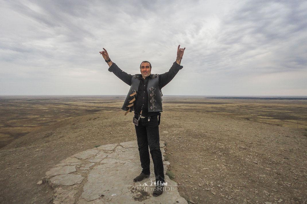 Fahrt zum Bolschoje Bodgo sowie den Lake Baskuntschak