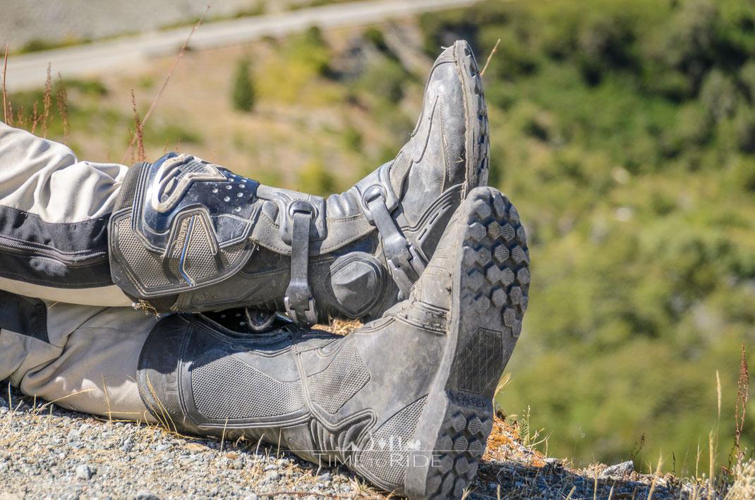 Motorradstiefel Langzeittest Alpinestars Toucan - Auch für Frauen geeignet?