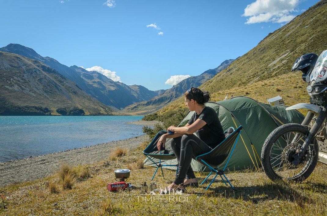 Sitzkomfort Helinox Chair ONE Camping-Klappstuhl