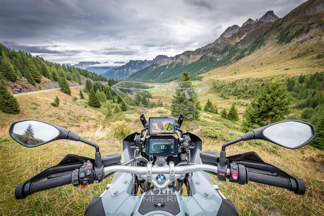 Cockpit BMW R 1250 GS Adventure mit TFT Display