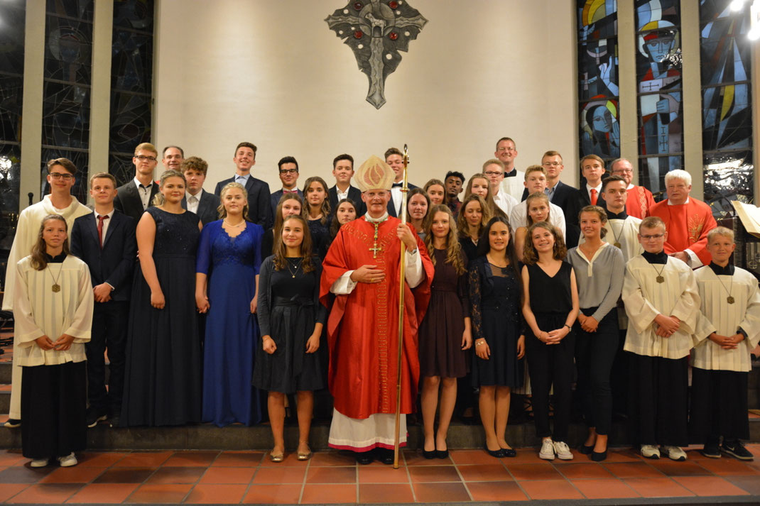 Firmung in St. Augustinus & Monika Wetter-Volmarstein am 07.09.19