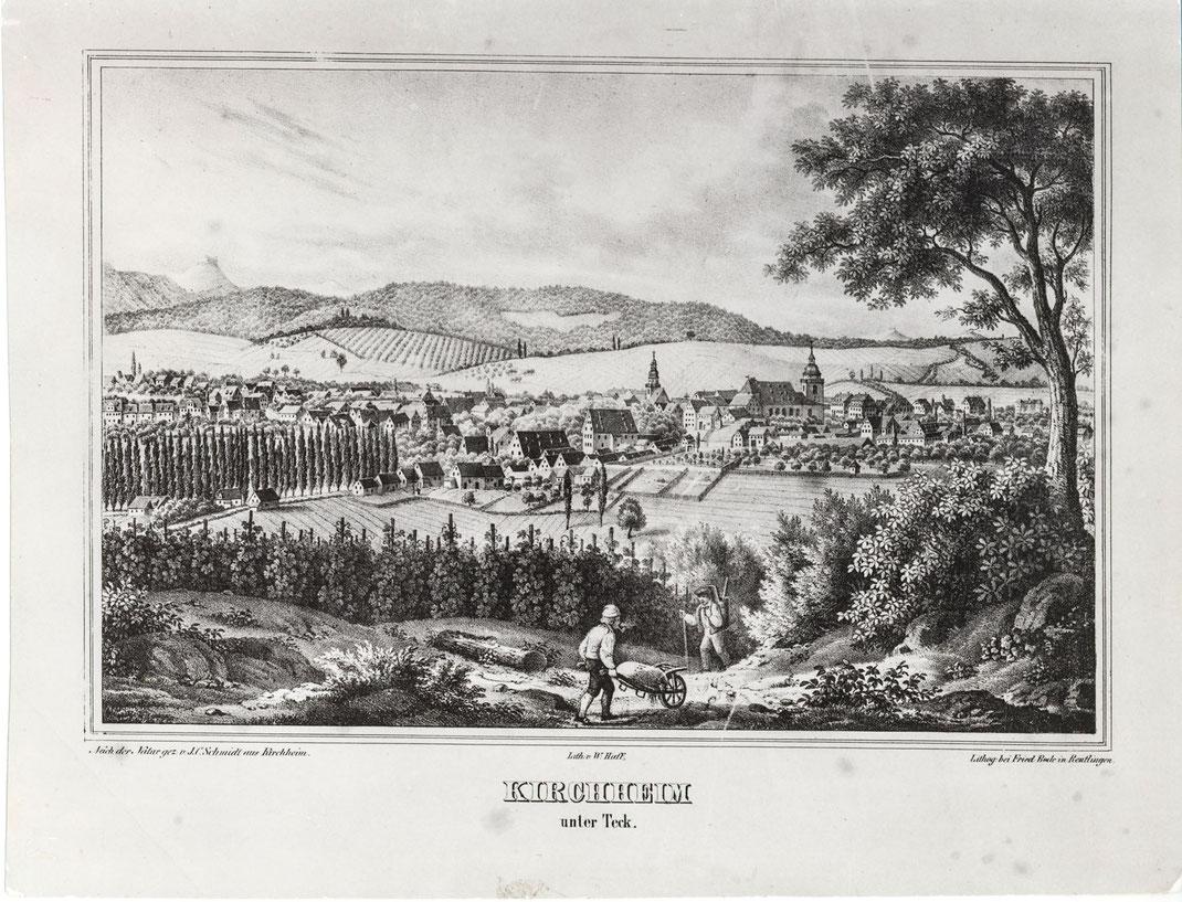 Geschichte des Weinanbaus in Kirchheim/Teck