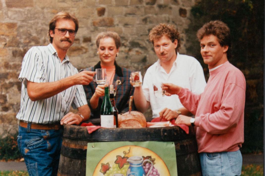 Geschichte des Kirchheimer Weindorfes