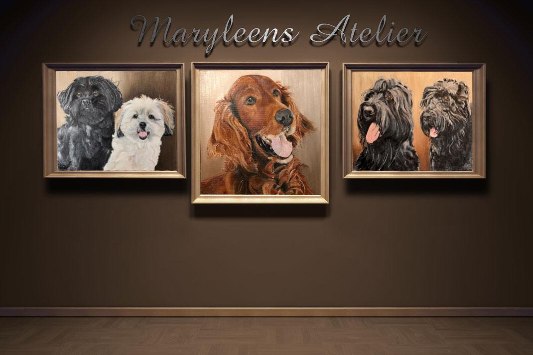 olieverfschilderij tijger