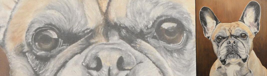 waar of wie kan mijn hond, kat, paard schilderen?