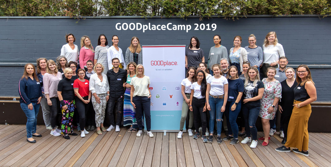 FeelGood @Work #neverstoplearning GOODplace ® Camp 2019 Inspiration pur und jede Menge Input.
