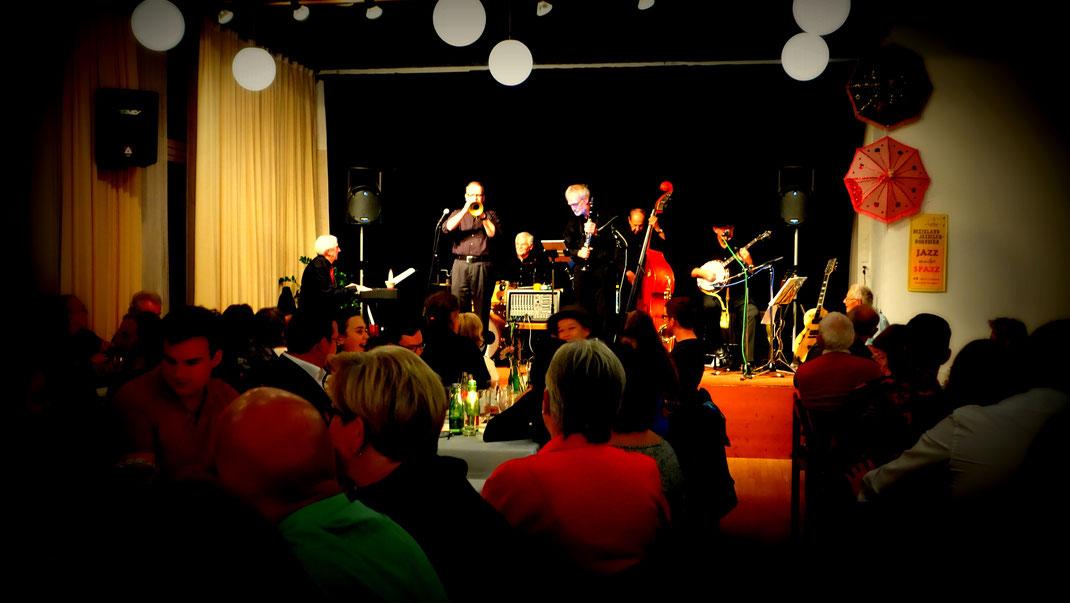 Val Reno Jazzband November 2ß17 Dornbirn Kolpinghaus round about jazz dietmar pfanner