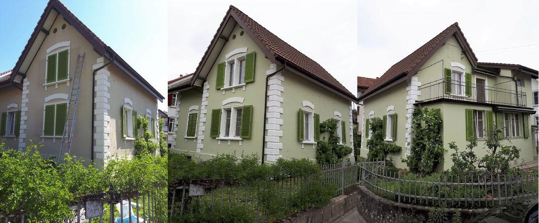 Renovation Hausfassade Objekt: 5012 Shönenwerd