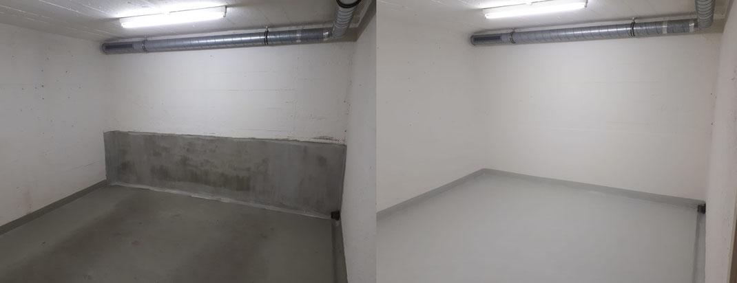 Sanierung Keller Wände und Boden Objekt: Kantonale Verwaltung, Zürich