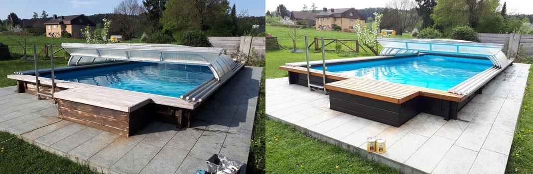 Schwimmbad Objekt: 8133 Esslingen