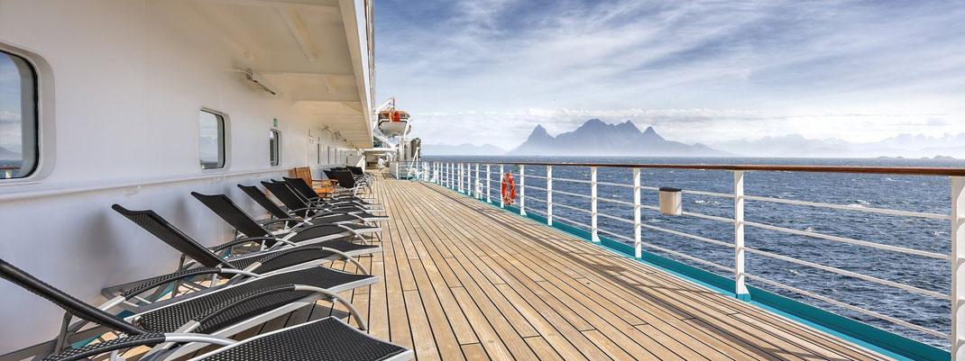 Ahoi an Bord zur Weltreise mit Phoenix Reisen Schiff Albatros, Artania, Amera und Amadea sowie Kreuzfahrtn mit MS Deutschland (c) Phoenix-Reisen