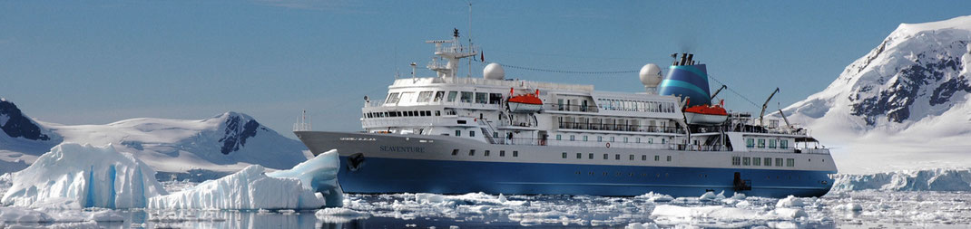 """Kreuzfahrten ab Deutschland mit MS Seaventure, vormals als MS Bremen für Hapag-Lloyd"""" gefahren. Schiffsreisen ab/bis Bremerhaven auf der Nordsee und Ostsee"""