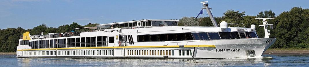 Flusskreuzfahrten auf dem Rhein, Main, Donau Kanal mit Würzburg und Bamberg und andere schöne Flussreisen (c) Foto MS Elegant Lady von Plantours Reisen