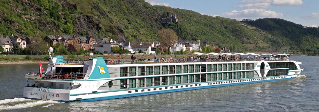 Flusskreuzfahrten für Alleinreisende und Singleurlaub für Senioren auf Flussschiffen von Phoenix-Reisen, Dertour, 1AVista, DCS-Touristik, Nicko-Cruises auf Flüssen in Deutschland Rhein Main Donau Mosel