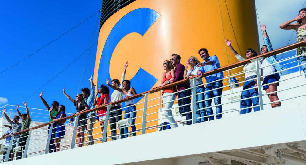 Costa Kreuzfahrten im Mittelmeer günstig online buchen mit kompetenter Expertenberatung Olaf Diroll vom Reisebüro Reiselotsen cruise & tours