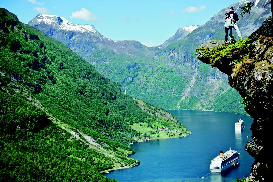 Costa Kreuzfahrten ab Bremerhaven 2020 nach Norwegen, Nordland Route mit Norwegens Fjorden (c) Foto Costa Crociera S.p.A.