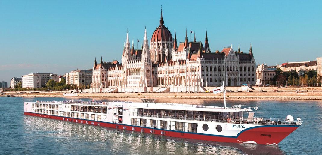 Dertour Flusskreuzfahrten auf dem Rhein Basel bis Amsterdam, Donau von Passau bis Budapest mit Wien, Douro in Portugal mit Lissabon, Seine in Paris Dertour Flussreisen
