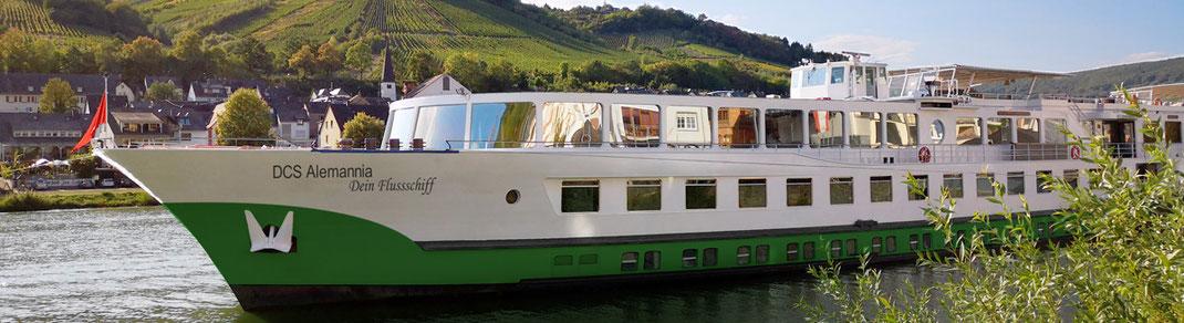 DCS Alemannia Flusskreuzfahrten Donau und beliebte Flussreisen auf dem Rhein Main Mosel zu Ostern 2021 Flussfahrt zur Tulpenblüte ab 479,- € (c) Foto DCS-Touristik GmbH