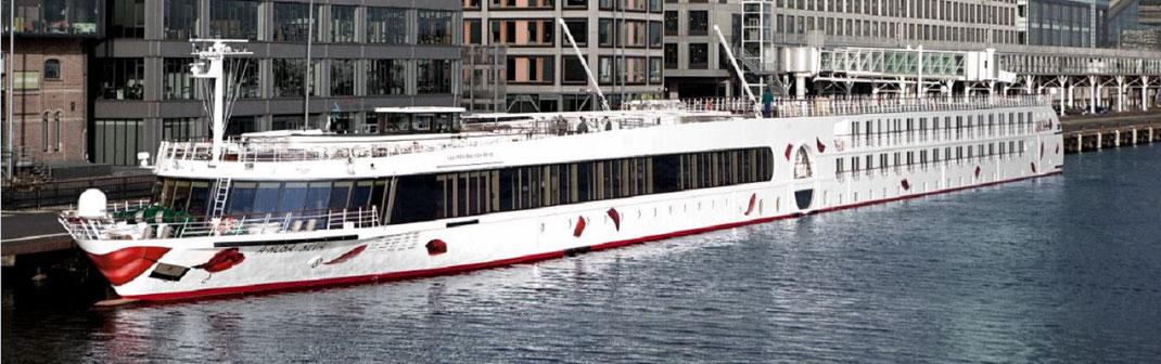 A-Rosa Flusskreuzfahrten auf dem Rhein & Donaufahrten mit Premium all inclusive Verpflegung (c) Foto Arosa Flussschiff GmbH