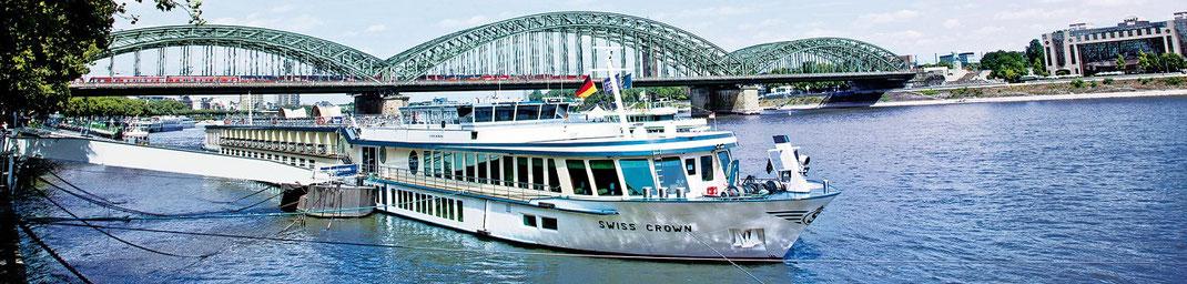 MS Swiss Cruises Flusskreuzfahrten auf Rhein und Donau (c) Foto VIVA Cruises GmbH