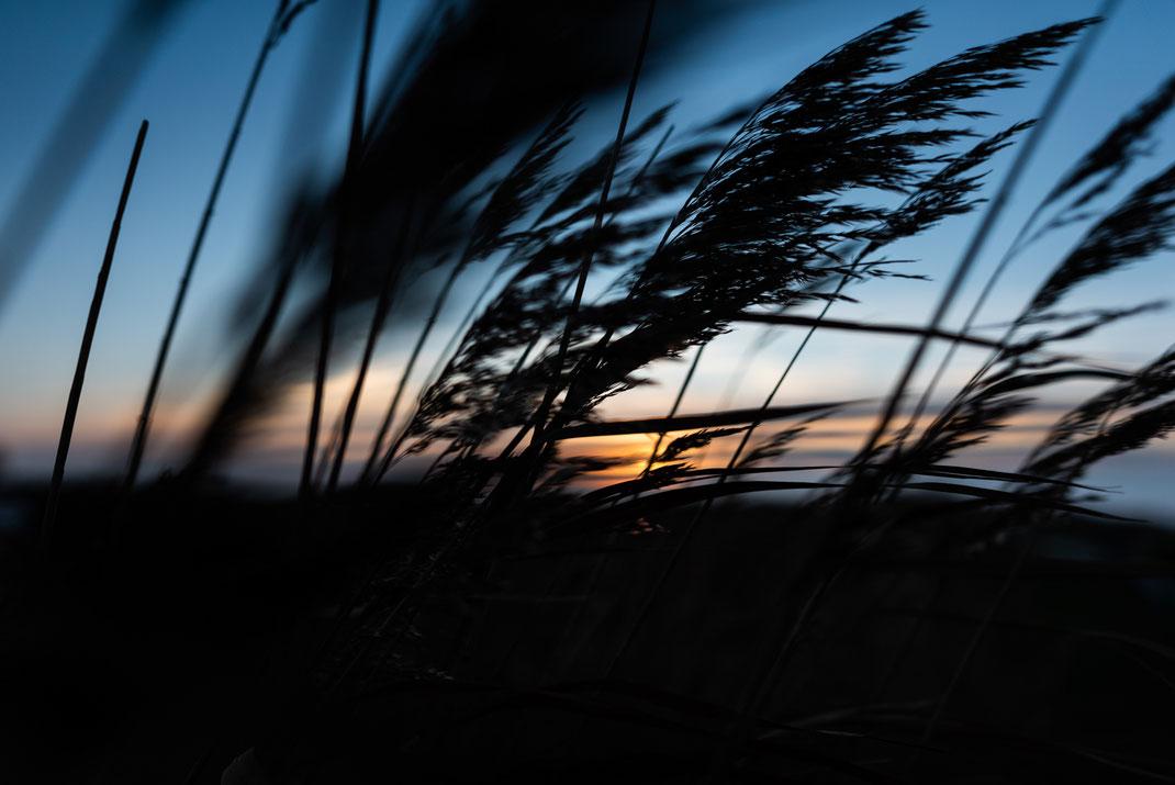 Winterabend an der Nordsee