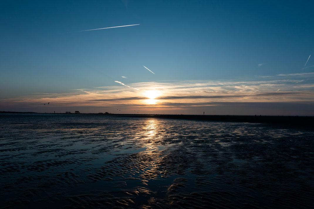 Sonnenuntergang in St.-Peter-Ording
