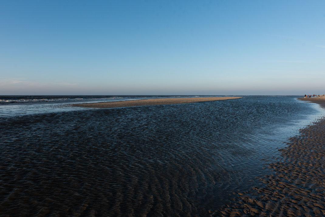 Am Strand von St.-Peter-Ording im Winter