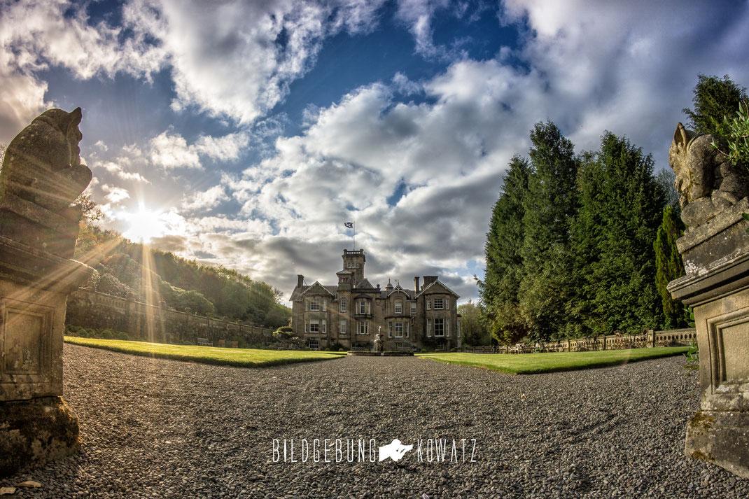 Schloss Auchem Castle Schottland