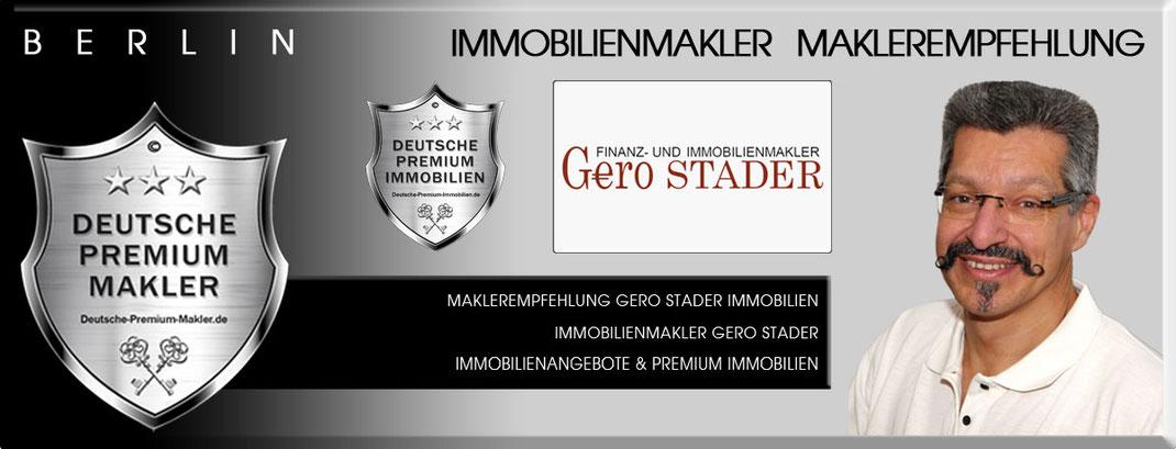 IMMOBILIENMAKLER BERLIN GERO STADER IMMOBILIEN BERLIN MAKLER IMMOBILIENANGEBOTE BERLIN MAKLEREMPFEHLUNG IMMOBILIENVERMITTLER