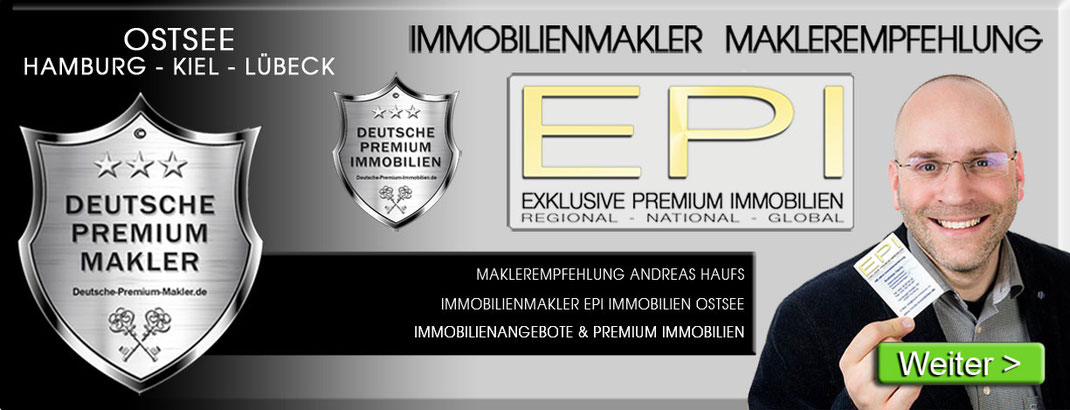 IMMOBILIENMAKLER LÜBECK - HAMBURG OSTSEE KIEL ANDREAS HAUFS EPI IMMOBILIEN IMMOBILIENAGETUR DPI