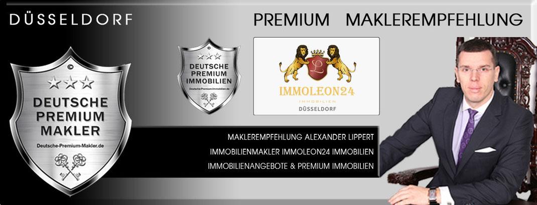IMMOBILIENMAKLER DÜSSELDORF ALEXANDER LIPPERT IMMOLEON24 IMMOBILIEN MAKLEREMPFEHLUNG IMMOBILIENANGEBOTE