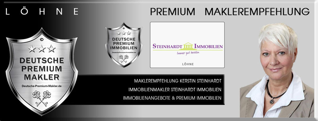 IMMOBILIENMAKLER LÖHNE KERSTIN STEINHARDT IMMOBILIEN IMMOBILIENANGEBOTE MAKLEREMPFEHLUNG