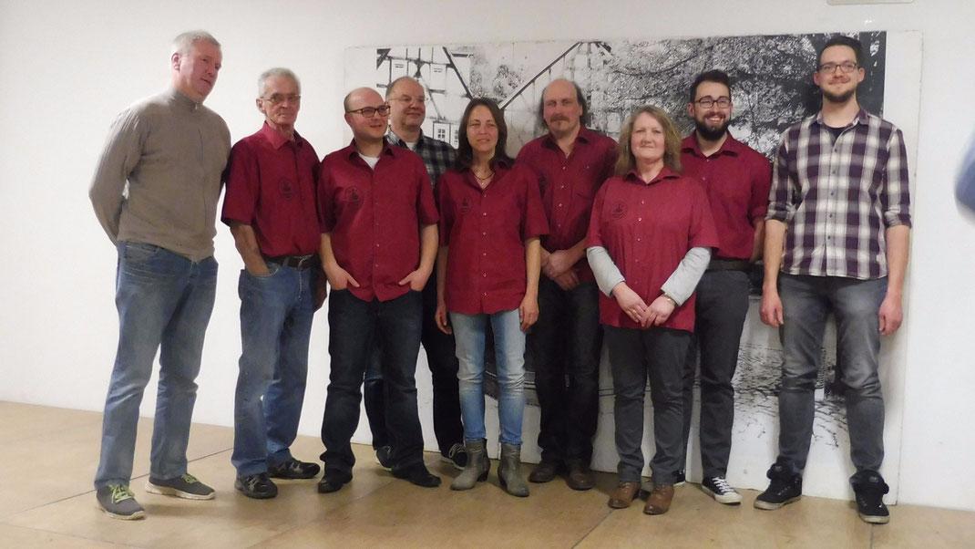 Karsten Sonnenberg, Herbert Weiershausen, Jan Weber, Matthias Wege, Mirjam Klein, Harald Klein, Erika Enseroth, Florian Scheiter, Fabian Hild