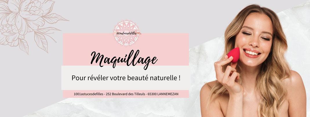 maquillage lannemezan 1001 astuces de filles fanny produits non comedogene pigmentes petits prix you are cosmetics maquillage de jour de soiree de mariage occasions