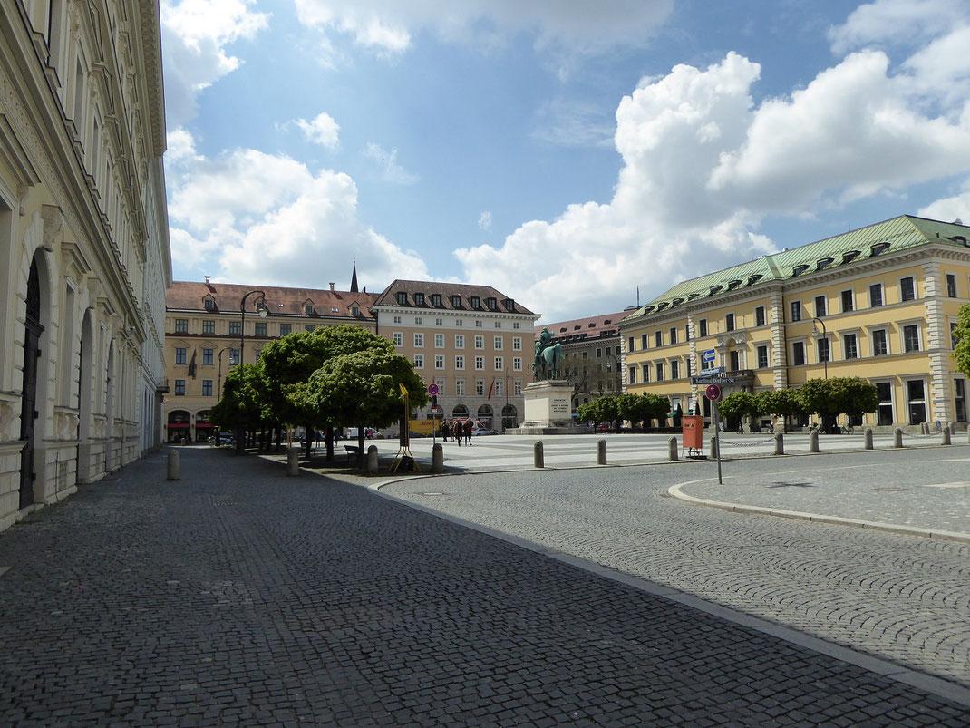 Wittelsbacherplatz, Maxvorstadt, München
