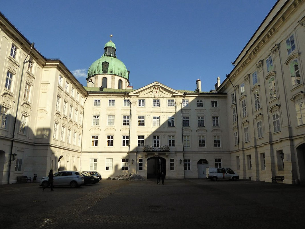 In der Innsbrucker Hofburg