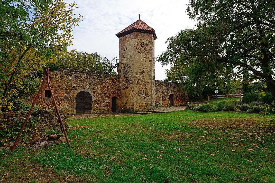 Battenberg, Burghof