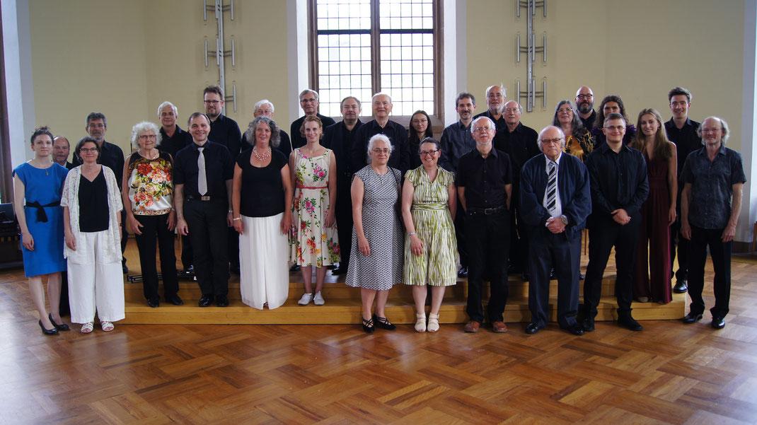 Das Kammerorchester beim Sommerkonzert 2018